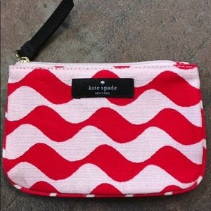 New in bag Kate Spade makeup bag/ zip pouch